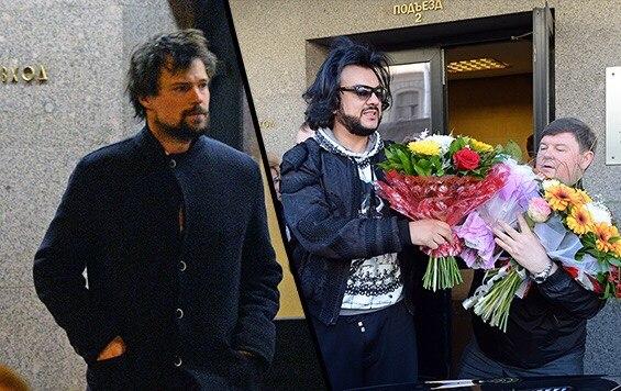 Данила Козловский на дне рождении Филиппа Киркорова, 30 апреля 2015